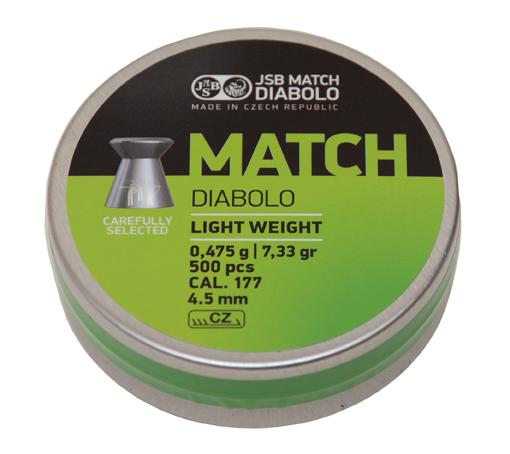 "JSB Diabolo ""Green Match""  - 0,475g - Luftpistole"