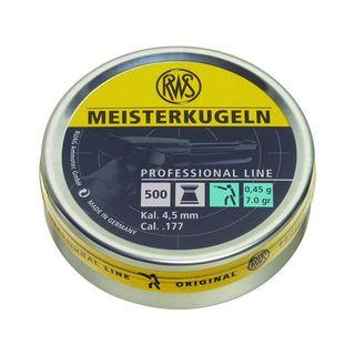 RWS Meisterkugeln, 0,45g für LP - Professional line