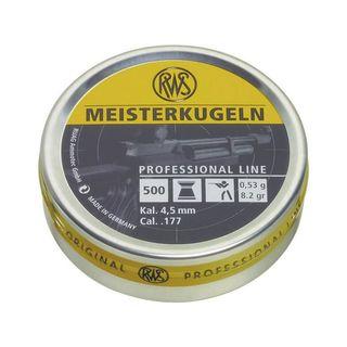 RWS Meisterkugeln, 0,53g für LG - Professional line