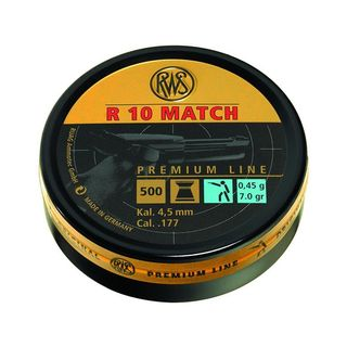RWS R10 Match Diabolos 0,45g für LP - Premium Line