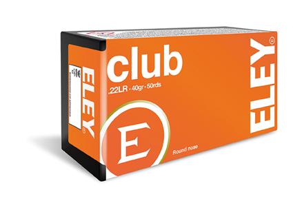 ELEY Club - Kal.22lr - 50 Schuss