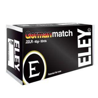 ELEY German Match - Kal.22lr - 50 Schuss