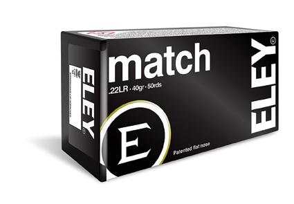 ELEY Match - Kal.22lr - 50 Schuss