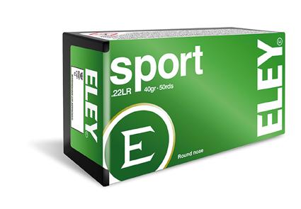 ELEY Sport - Kal.22lr - 50 Schuss