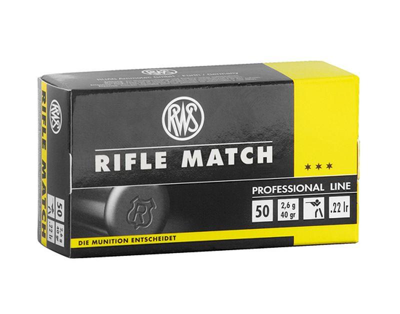 RWS Rifle Match - 50 Schuss