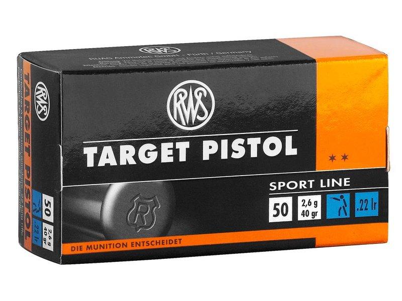 RWS Target Pistole -  50 Schuss