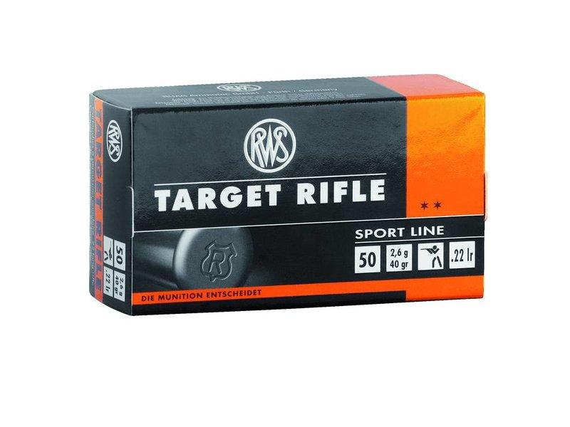 RWS Target Rifle - 50 Schuss