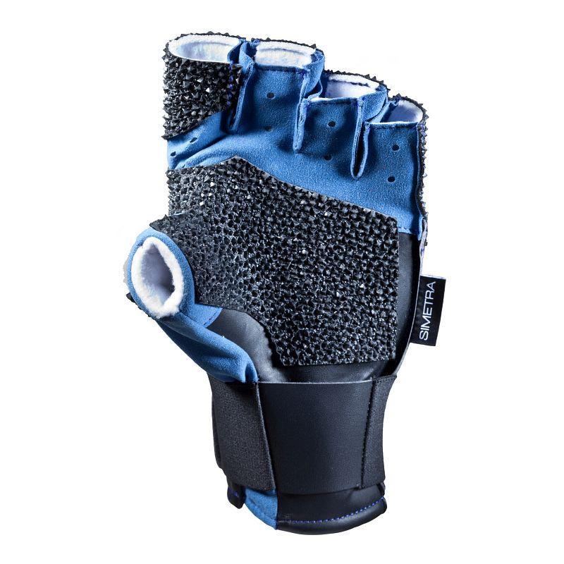 Schießsporthandschuh Simetra PRIMOFIT 10 - Schwarz/Blau