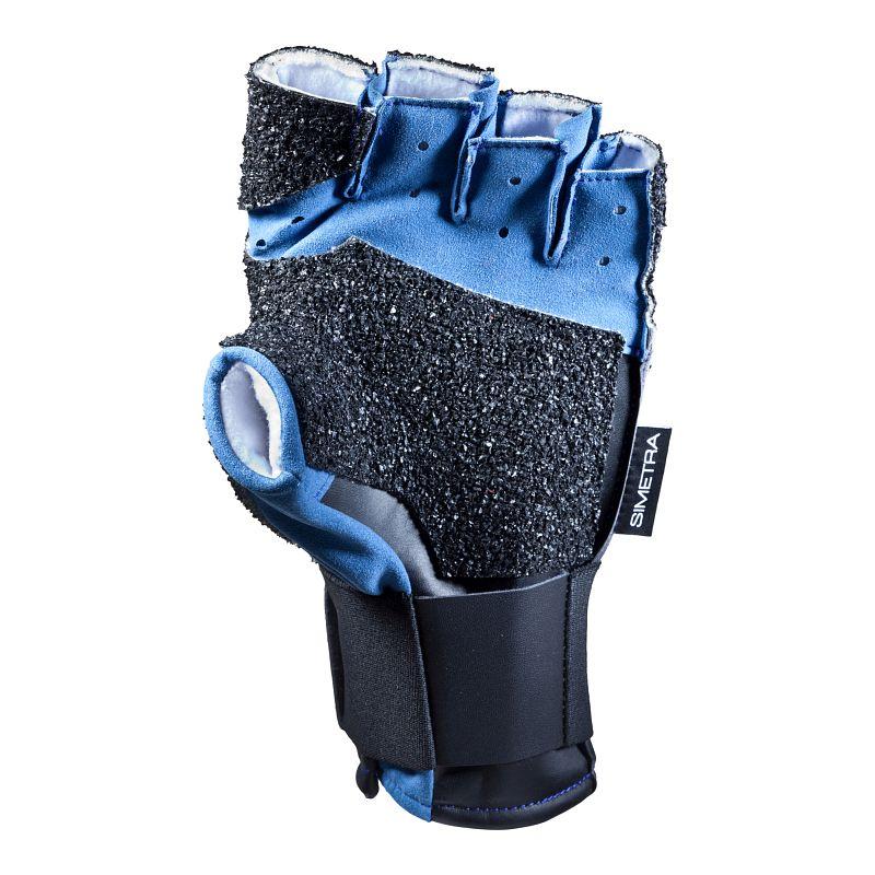 Schießsporthandschuh Simetra PRIMOFIT 20 - Schwarz/Blau