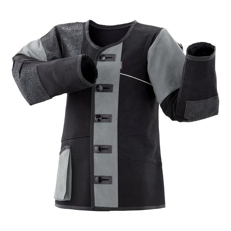 Schießsportjacke Simetra PRIMOFIT 10 - schwarz/grau