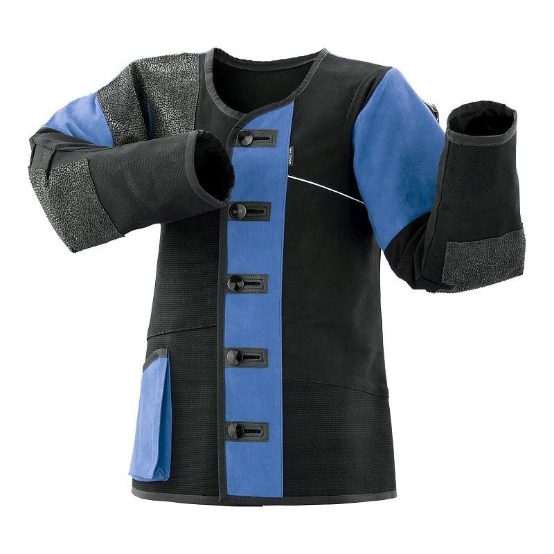 Schießsportjacke Simetra PRIMOFIT 10 - schwarz/blau