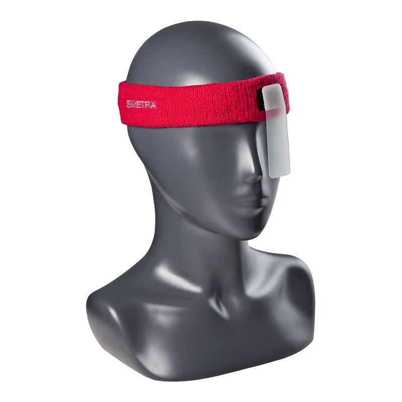 Stirnband mit Augenblende Simetra PRIMOFIT 10 - Rot
