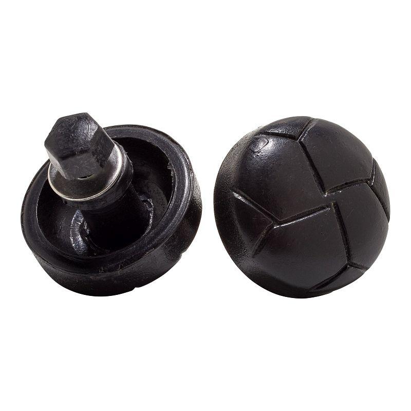 Knopf für Schießsportjacke - Plastik