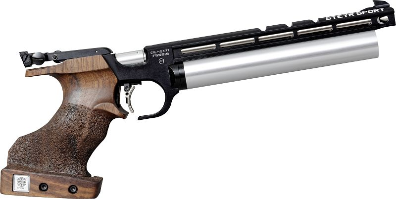 Steyr Luftpistole - Evo 10 E - Schwarz