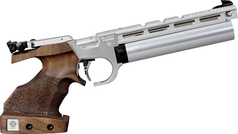 Steyr Luftpistole - Evo 10 E Compact - Silber
