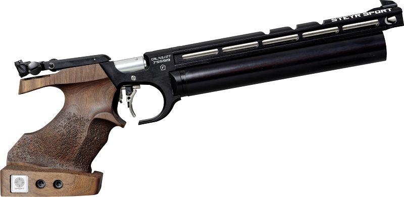 Steyr Luftpistole - Evo 10 Schwarz