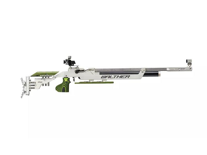 Walther LG400 Expert Green Pepper, M rechts